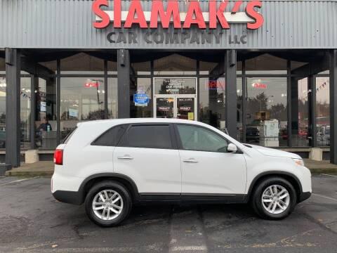2015 Kia Sorento for sale at Siamak's Car Company llc in Salem OR