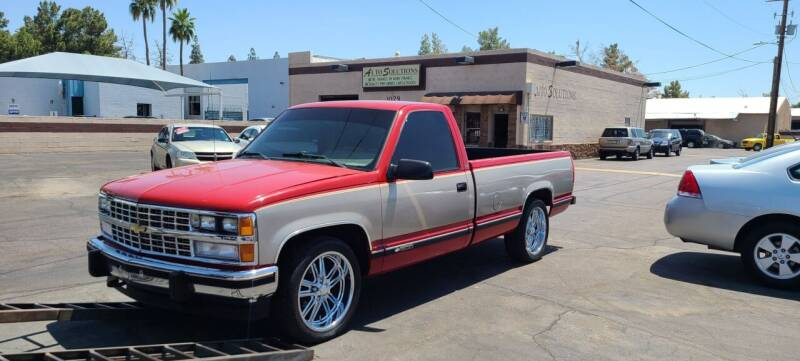1989 Chevrolet C/K 1500 Series for sale at Auto Solutions in Mesa AZ