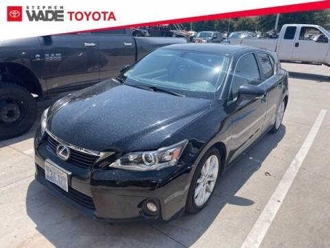 2012 Lexus CT 200h for sale at Stephen Wade Pre-Owned Supercenter in Saint George UT