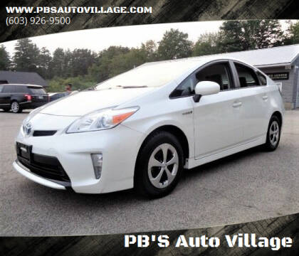 2015 Toyota Prius for sale at PB'S Auto Village in Hampton Falls NH