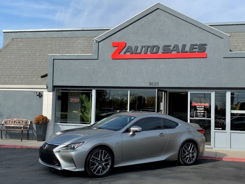 2016 Lexus RC 200t for sale at Z Auto Sales in Boise ID