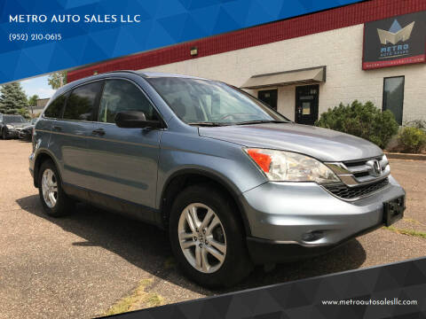 2010 Honda CR-V for sale at METRO AUTO SALES LLC in Blaine MN