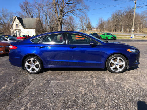 2016 Ford Fusion for sale at Westview Motors in Hillsboro OH