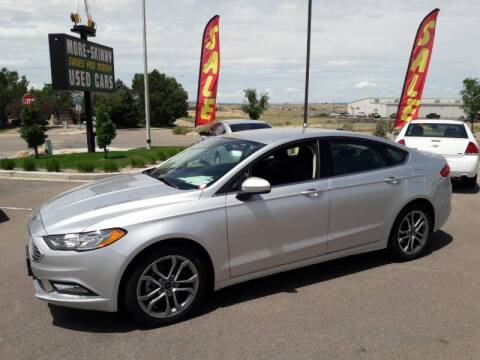 2017 Ford Fusion for sale at More-Skinny Used Cars in Pueblo CO