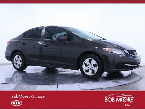 2014 Honda Civic for sale at Bob Moore Kia in Oklahoma City OK