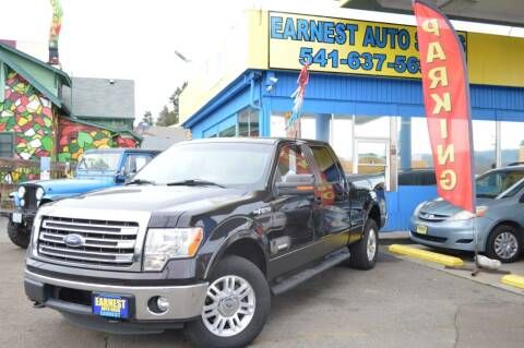 2013 Ford F-150 for sale at Earnest Auto Sales in Roseburg OR