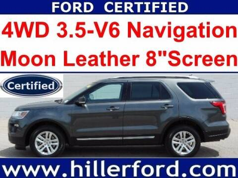 2019 Ford Explorer for sale at HILLER FORD INC in Franklin WI