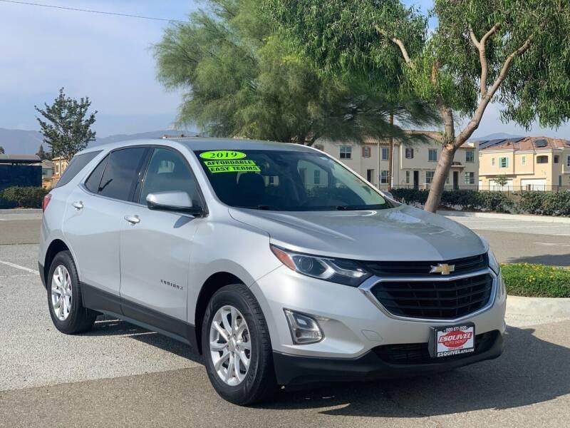 2019 Chevrolet Equinox for sale at Esquivel Auto Depot in Rialto CA