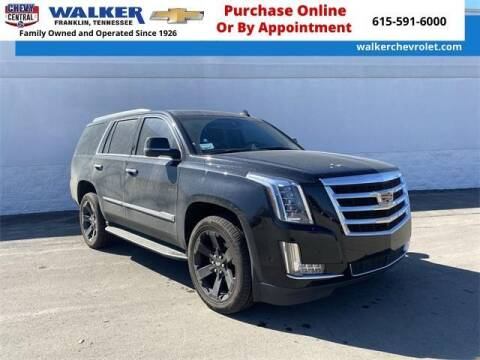 2017 Cadillac Escalade for sale at WALKER CHEVROLET in Franklin TN