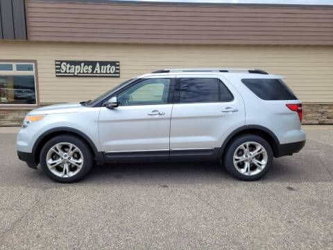 2011 Ford Explorer for sale at STAPLES AUTO SALES in Staples MN