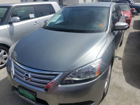 2014 Nissan Sentra for sale at Express Auto Sales in Los Angeles CA