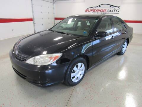 2002 Toyota Camry for sale at Superior Auto Sales in New Windsor NY