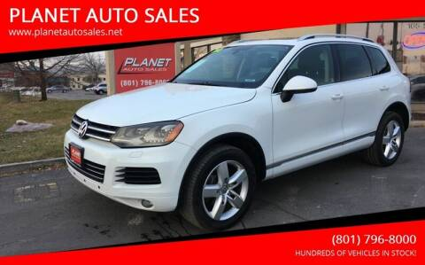 2013 Volkswagen Touareg for sale at PLANET AUTO SALES in Lindon UT