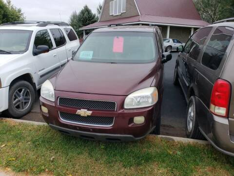 2006 Chevrolet Uplander for sale at Geareys Auto Sales of Sioux Falls, LLC in Sioux Falls SD