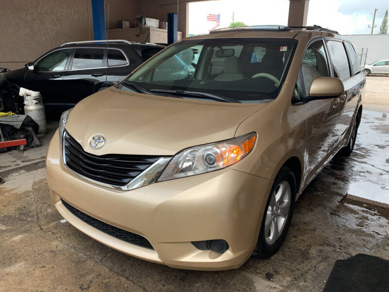 2011 Toyota Sienna for sale at Eden Cars Inc in Hollywood FL