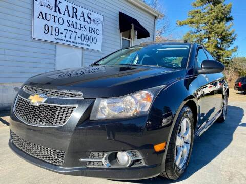 2014 Chevrolet Cruze for sale at Karas Auto Sales Inc. in Sanford NC