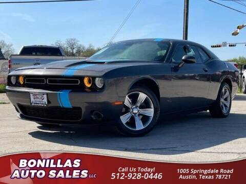 2016 Dodge Challenger for sale at Bonillas Auto Sales in Austin TX