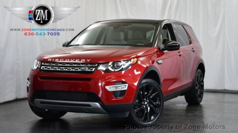 2016 Land Rover Discovery Sport for sale at ZONE MOTORS in Addison IL