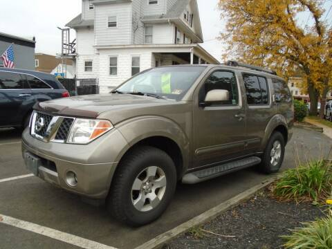 2006 Nissan Pathfinder for sale at Greg's Auto Sales in Dunellen NJ