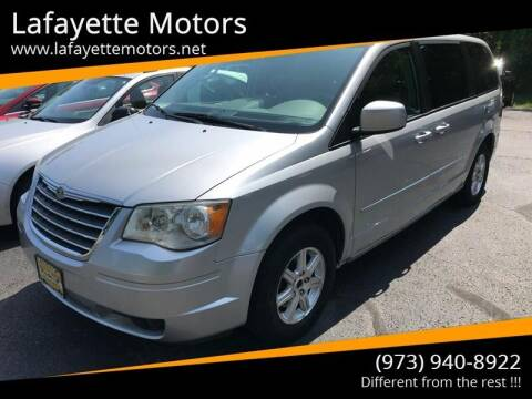 2008 Chrysler Town and Country for sale at Lafayette Motors in Lafayette NJ