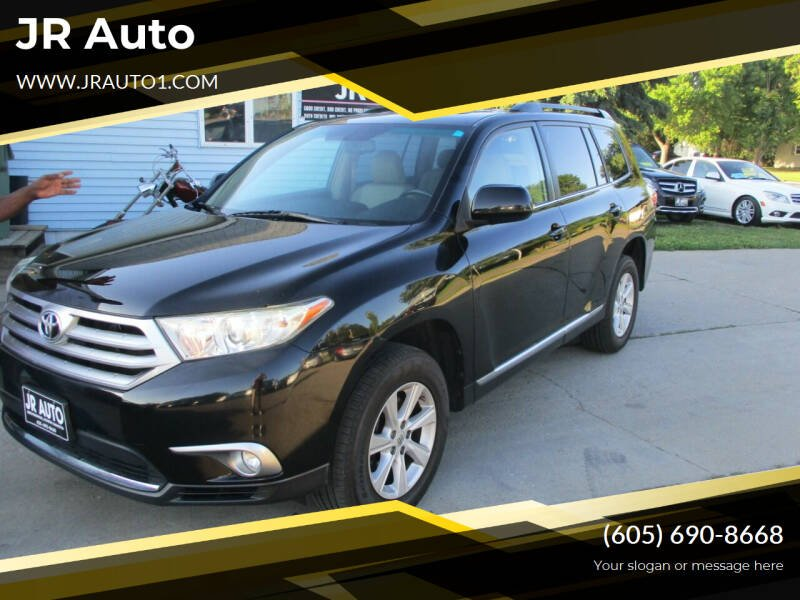 2011 Toyota Highlander for sale at JR Auto in Brookings SD