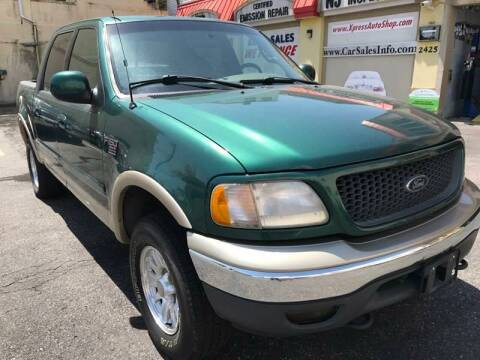 2001 Ford F-150 for sale at Xpress Auto Sales & Service in Atlantic City NJ