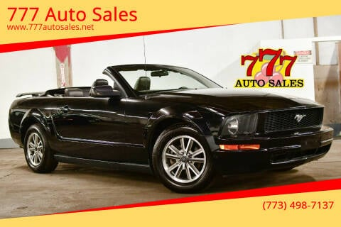 2005 Ford Mustang for sale at 777 Auto Sales in Bedford Park IL