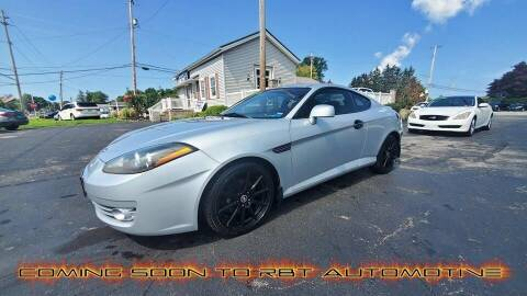2008 Hyundai Tiburon for sale at RBT Automotive LLC in Perry OH