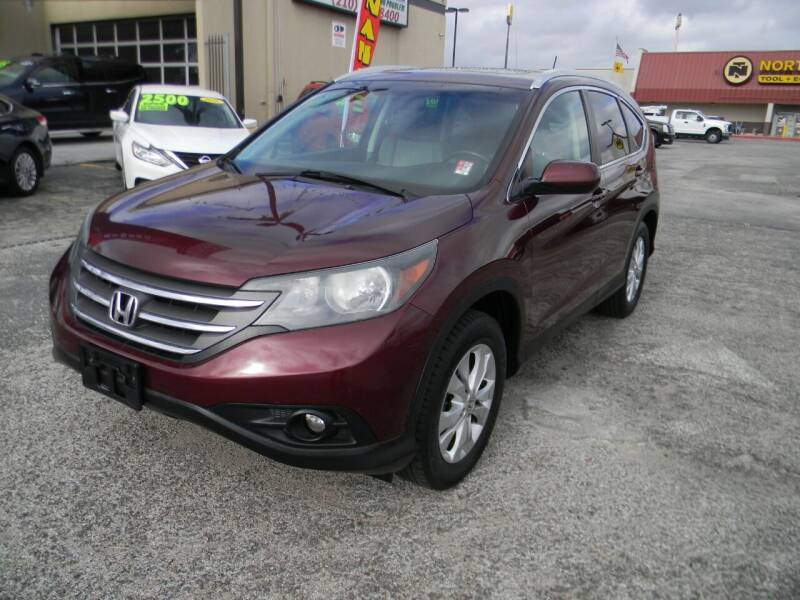 2014 Honda CR-V for sale at Meridian Auto Sales in San Antonio TX