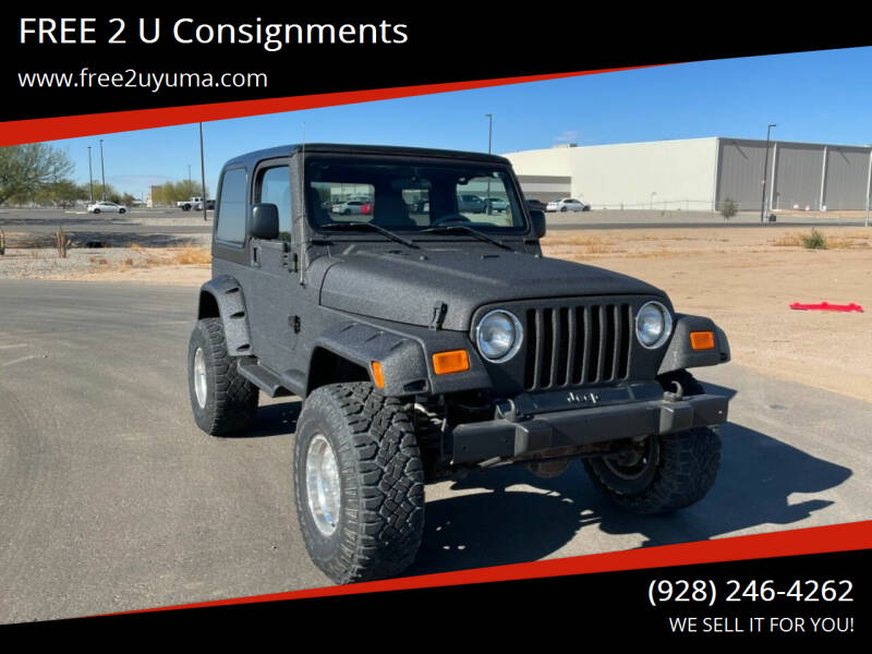 2005 Jeep Wrangler for sale at FREE 2 U Consignments in Yuma AZ