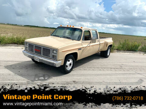 1985 Chevrolet C/K 30 Series for sale at Vintage Point Corp in Miami FL