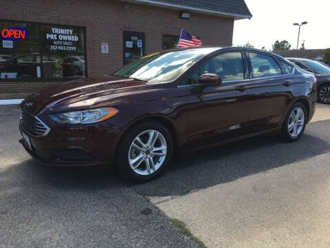 2018 Ford Fusion for sale at Bankruptcy Car Financing in Norfolk VA