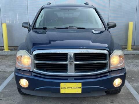 2006 Dodge Durango for sale at Delta Auto Alliance in Houston TX