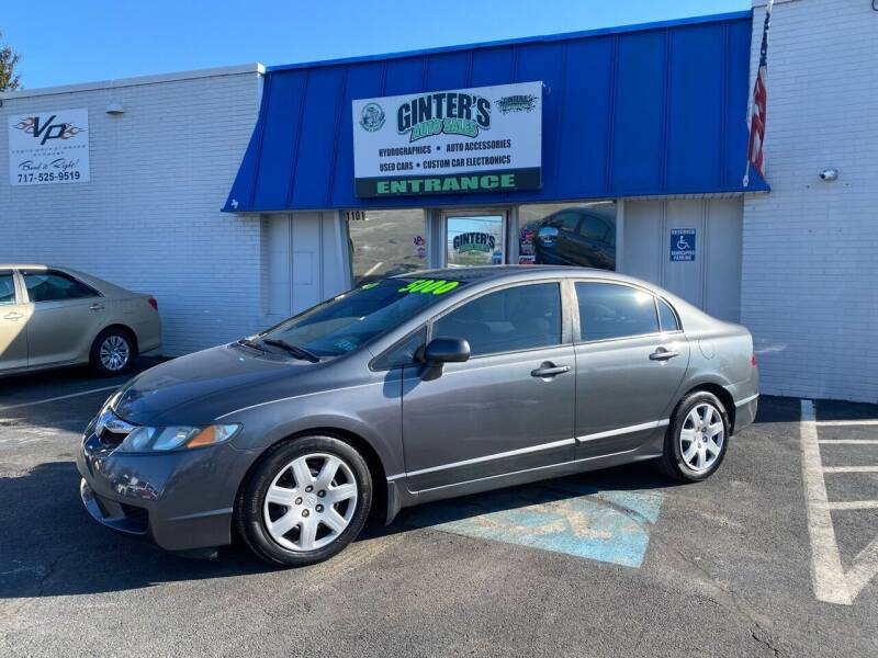 2009 Honda Civic for sale at Ginters Auto Sales in Camp Hill PA