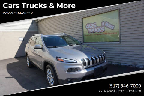 2017 Jeep Cherokee for sale at Cars Trucks & More in Howell MI