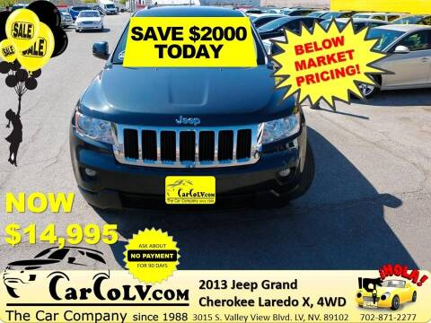2013 Jeep Grand Cherokee for sale at The Car Company in Las Vegas NV
