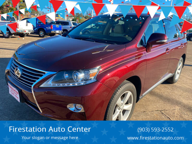 2015 Lexus RX 350 for sale at Firestation Auto Center in Tyler TX