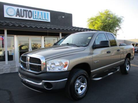 2008 Dodge Ram Pickup 1500 for sale at Auto Hall in Chandler AZ