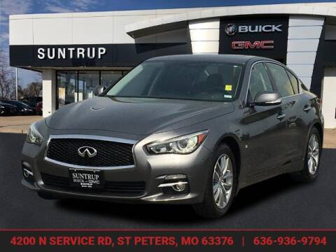 2014 Infiniti Q50 for sale at SUNTRUP BUICK GMC in Saint Peters MO