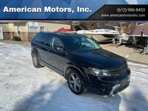 2017 Dodge Journey for sale at American Motors, Inc. in Farmington MN