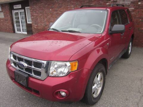 2008 Ford Escape for sale at Tewksbury Used Cars in Tewksbury MA
