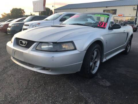 2001 Ford Mustang for sale at BELOW BOOK AUTO SALES in Idaho Falls ID