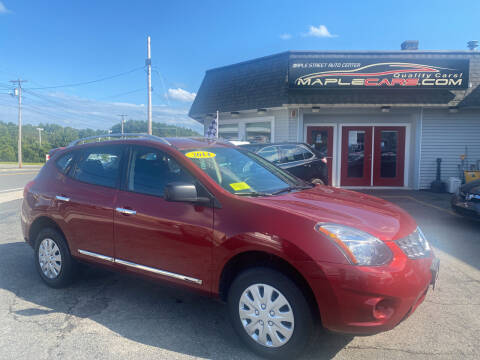 2014 Nissan Rogue Select for sale at Maple Street Auto Center in Marlborough MA