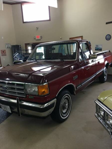 1988 Ford F-150 for sale at Gary Miller's Classic Auto in El Paso IL