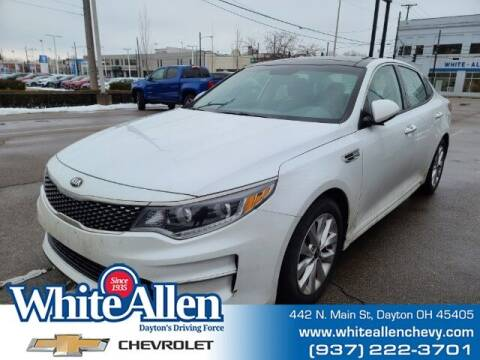 2016 Kia Optima for sale at WHITE-ALLEN CHEVROLET in Dayton OH