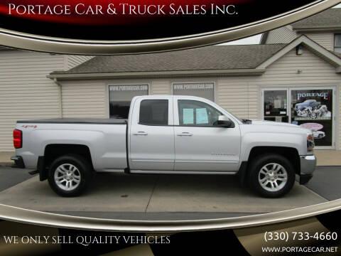 2017 Chevrolet Silverado 1500 for sale at Portage Car & Truck Sales Inc. in Akron OH