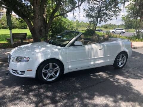 2008 Audi A4 for sale at Unique Sport and Imports in Sarasota FL