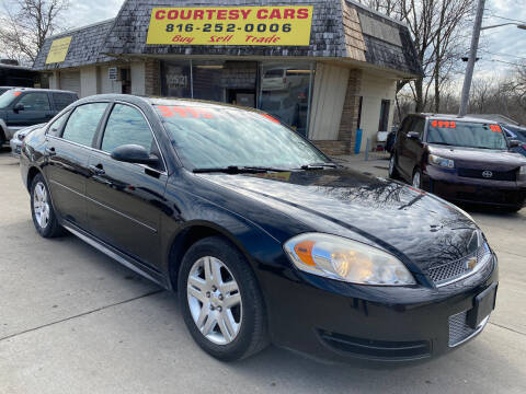 2013 Chevrolet Impala for sale at Courtesy Cars in Independence MO