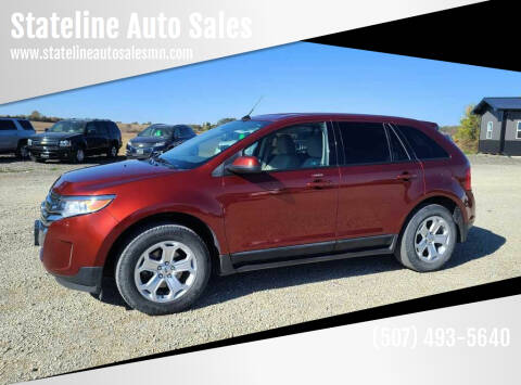 2014 Ford Edge for sale at Stateline Auto Sales in Mabel MN