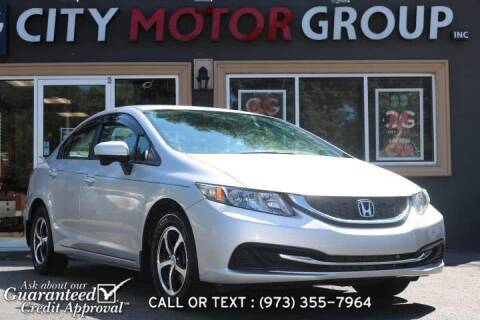 2015 Honda Civic for sale at City Motor Group, Inc. in Wanaque NJ